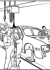 coloring page Professions (22)