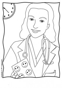 coloring page Professions (26)