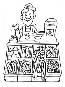 coloring page Professions (27)