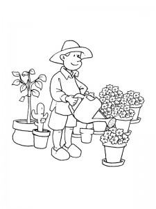 coloring page Professions (4)