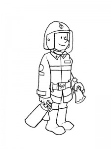 coloring page Professions (5)