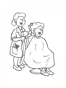 coloring page Professions (6)