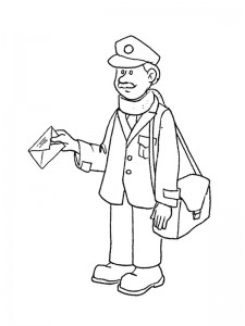 coloring page Professions (7)