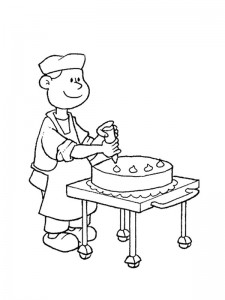 coloring page Professions (8)