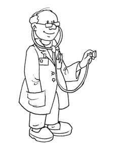 coloring page Professions (9)