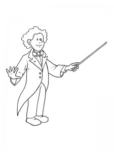coloring page Professions