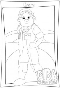 coloring page Biba farm (1)