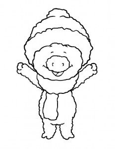 coloring page Bibbeltje big (4)