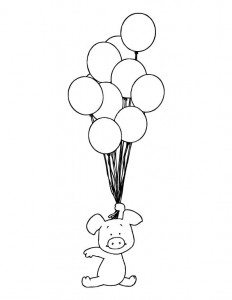 coloring page Bibbeltje big (5)