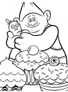 coloring page biggie-mr-dinkles