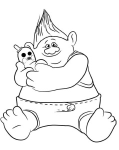 coloring page biggie