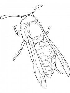 målarbok Bee (1)