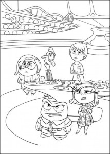 Dibujo para colorear Inside Out (Insideout) (14)