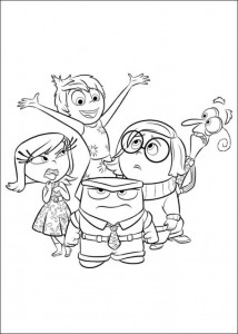 Dibujo para colorear Inside Out (Insideout) (15)