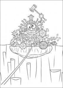 coloring page Inside Out (Insideout) (18)