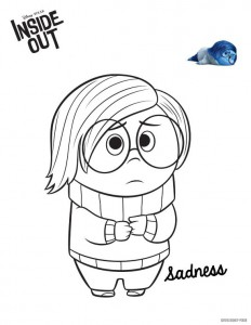 Dibujo para colorear Inside Out (Insideout) (4)