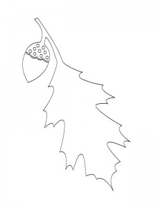 coloring page Leaves (11)