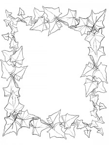 coloring page Leaves (13)