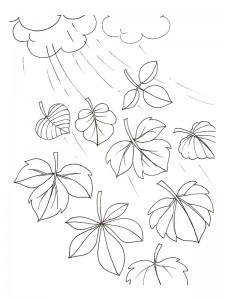 coloring page Leaves (15)
