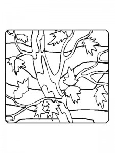 coloring page Leaves (37)