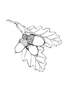 coloring page Leaves (8)
