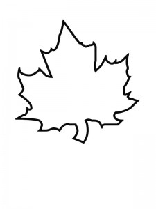 coloring page Leaves (9)