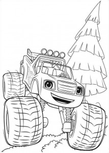 blaze-och-monster-hjul-02 målarbok