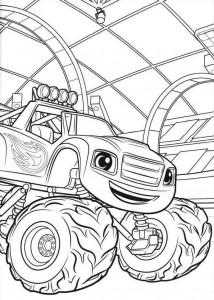 blaze-och-monster-hjul-03 målarbok