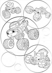 blaze-och-monster-hjul-04 målarbok