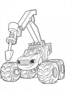 blaze-och-monster-hjul-07 målarbok