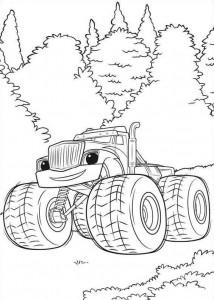blaze-och-monster-hjul-08 målarbok