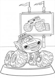 blaze-och-monster-hjul-12 målarbok