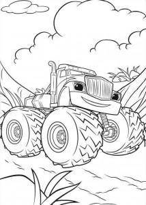 blaze-och-monster-hjul-14 målarbok