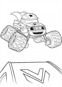 blaze-och-monster-hjul-15 målarbok