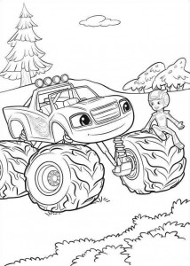 blaze-and-monster-wheels-16 coloring page