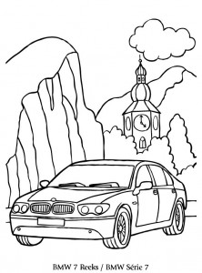 Coloriage BMW 7