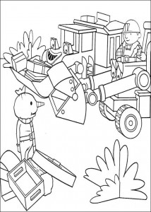 Disegno da colorare Bob the Builder (1)