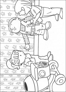 coloring page Bob the Builder (10)