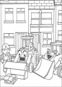 coloring page Bob the Builder (12)