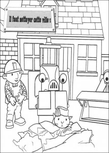 coloring page Bob the Builder (13)