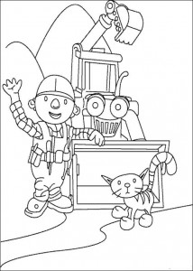 coloring page Bob the Builder (14)