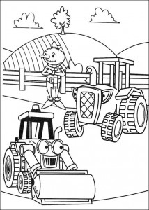 Disegno da colorare Bob the Builder (15)