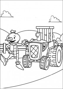 Disegno da colorare Bob the Builder (16)