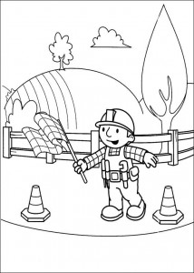 Disegno da colorare Bob the Builder (17)
