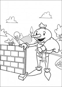 Disegno da colorare Bob the Builder (18)
