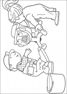 Disegno da colorare Bob the Builder (19)