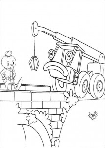 Disegno da colorare Bob the Builder (2)