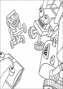 coloring page Bob the Builder (20)