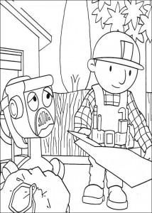 Disegno da colorare Bob the Builder (23)