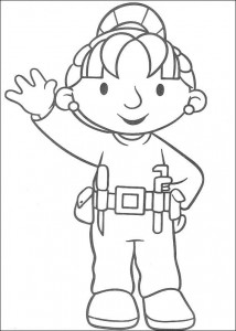 Disegno da colorare Bob the Builder (25)